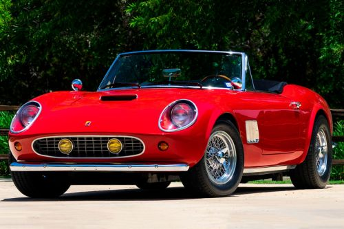 Ferris Bueller's Modena GT Spyder California Is Being Auctioned Off