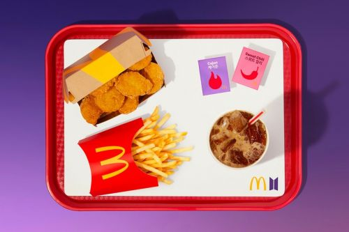 McDonald's BTS Meal Packaging Is Now Reselling on eBay