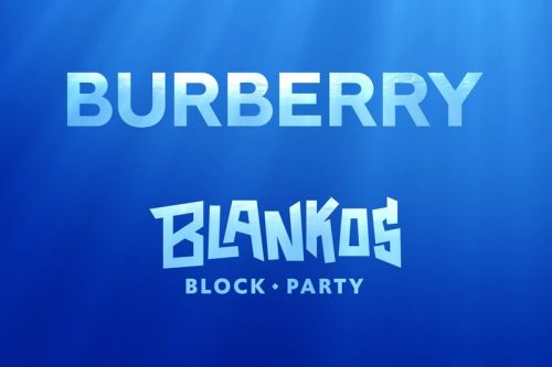 Burberry Links With 'Blankos Block Party' For Unique Digital Collab