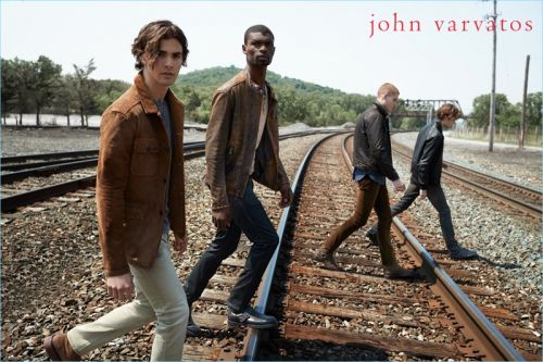 The Journeymen: Salieu Jalloh, Gordon Winarick + More for John Varvatos Star USA