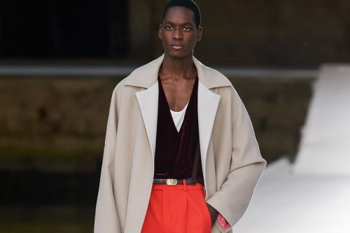Could There be a Market for Men's Couture?