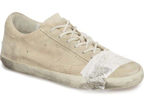 Golden Goose Is Selling $530 Taped-Together SneakersItalian shoe