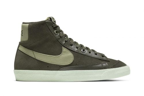 """Nike's Blazer Mid '77 Receives Understated """"Light Army"""" Colorway"""