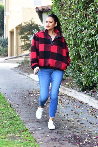 Um, You Can Score Shay Mitchell's *Entire* Cozy Fall Look for Under $200