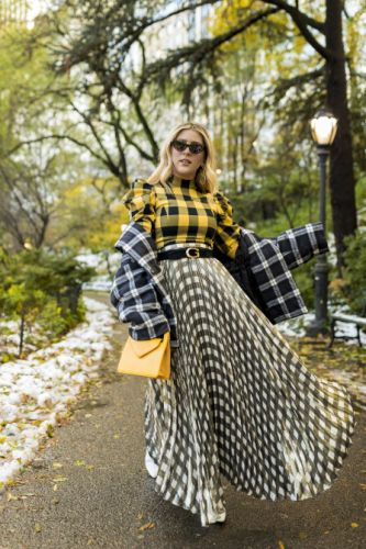 The Maximalist's Guide to Mixing and Matching Plaids