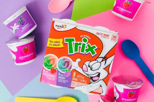 Yoplait's Trix Yogurt Is Back