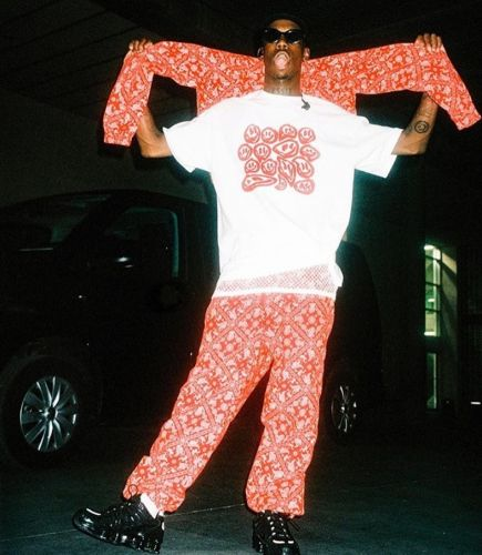 Octavian's alter-ego is behind his new fashion label