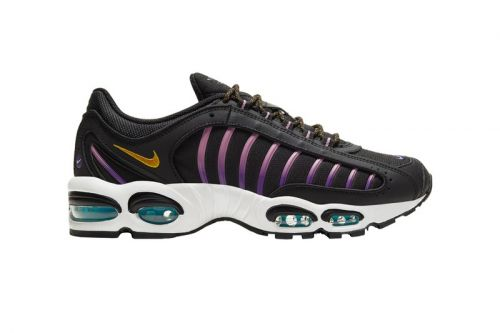 """Nike's Latest Air Max Tailwind IV Features Accented Hits of """"Pollen Rise"""" & """"Voltage Purple"""""""
