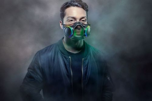 You Can Now Buy Razer's Futuristic Zephyr Face Mask for $100 USD
