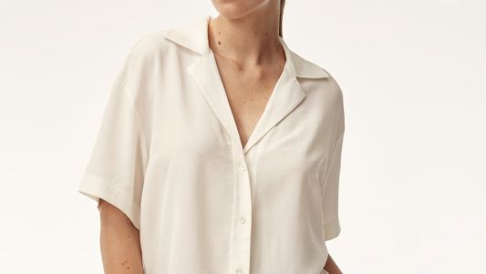 The Comfy, Silk Camp Shirt Maria Wants to Live in All Summer