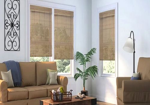 The Use of Natural Cordless Blinds to Elevate Living Rooms