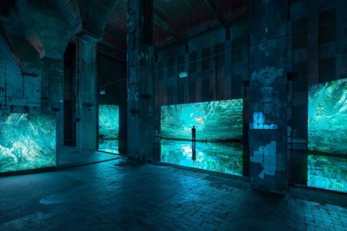 Berghain Nightclub Is Transformed Into an Immersive Swamp-Like Exhibition