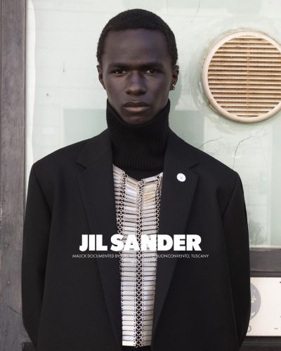 Malick Bodian Travels to Tuscany for Jil Sander Fall Campaign