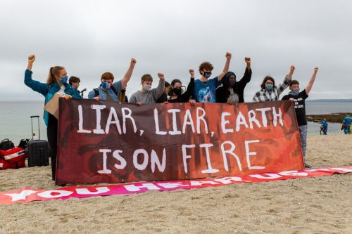 How protesters defied the G7 summit with a weekend of civil disobedience