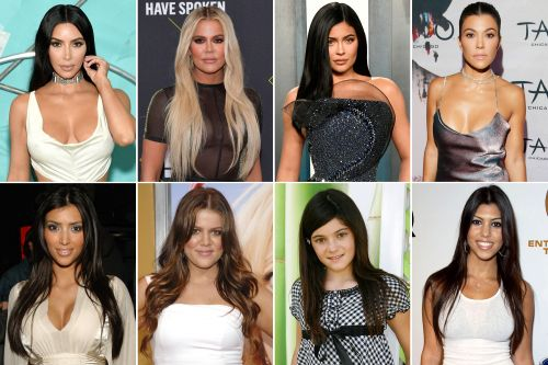 How the Kardashians and Jenners have changed over the years