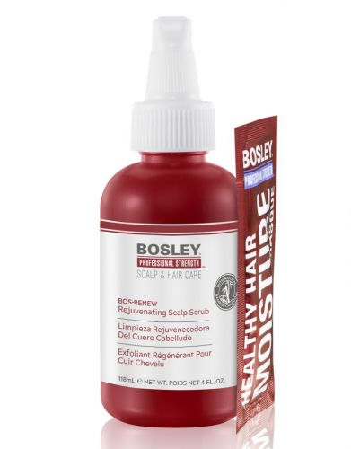 Bosley Launches New Professional Strength Rejuvenating Scalp Scrub