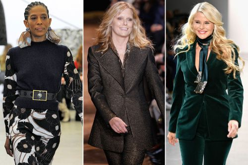 Older models are dominating the runways