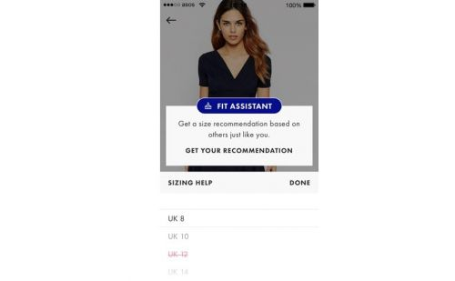 Asos rolls out Fit Assistant tool
