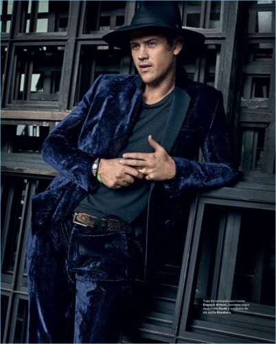 Boyd Holbrook Covers Icon El País, Embraces Western-Inspired Style