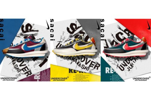 The UNDERCOVER x sacai Nike LDWaffle Pack Receives Official Release Date