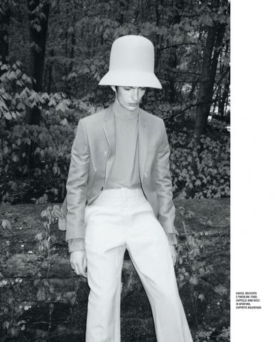 The River Man: Piero Méndez for Icon Italia