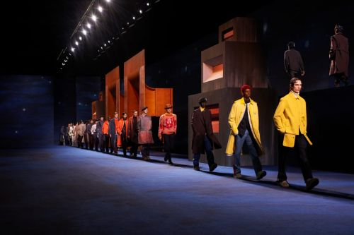 Kim Jones Collaborated with Painter Peter Doig for the Dior Men's Fall 2021 Collection