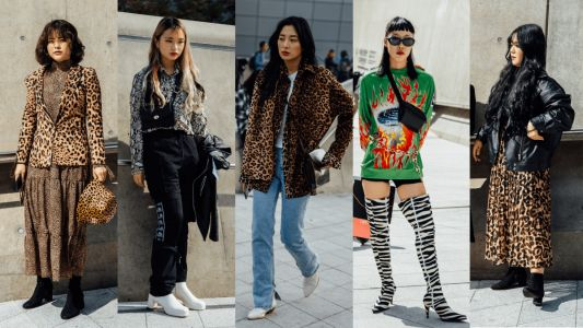Showgoers Wore Their Best Animal Prints at Seoul Fashion Week