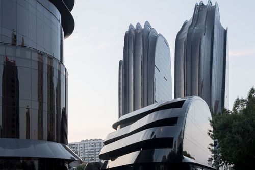 MAD Architects' Chaoyang Park Plaza Design Offers Relief From Rigid Beijing Business District