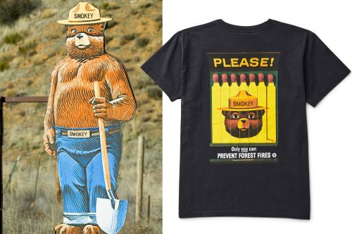 Smokey the Bear celebrates 75 years of fighting fire - with fashion