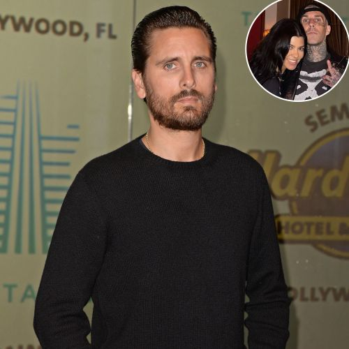 Scott Disick Has Given Kourtney Kardashian and Travis Barker His 'Blessing' as a Couple