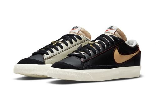"""Nike Blazer Low '77 """"First Use"""" Boasts Yin and Yang Color-Blocking"""