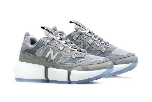 Jaden Smith's New Balance Vision Racer Appears in Heritage-Themed Gray Colorway