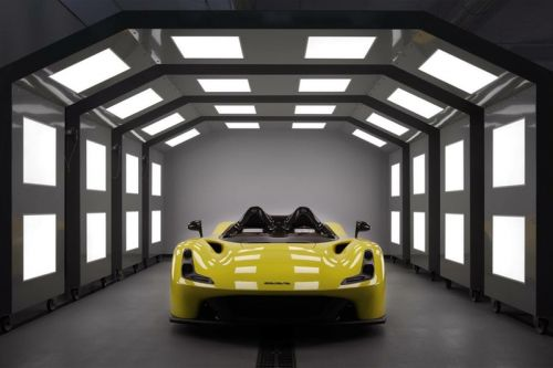 "Dallara Unveils Its First Road Car, the Doorless ""Stradale"""