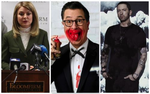 Week in Review: Bruce Weber Allegations, Stephen Colbert for GQ, Eminem Covers Interview + More