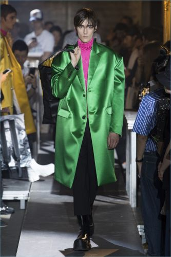 Raf Simons Makes a Case for Satin with Spring '19 Collection