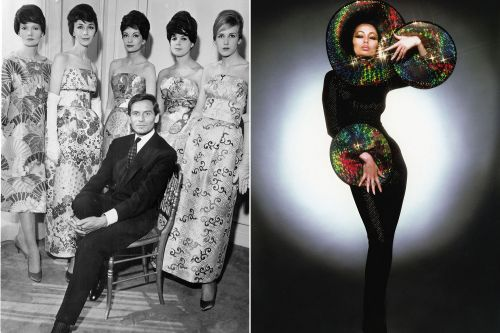 Brooklyn Museum's 'Pierre Cardin: Future Fashion' is out of this world