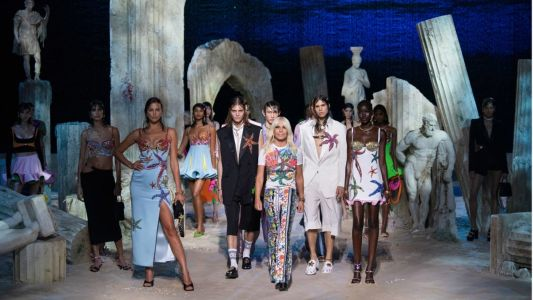Versace Goes Under the Sea for Spring 2021