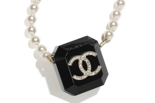 Chanel's Latest Luxurious AirPods Case Doubles As a Pearl Necklace