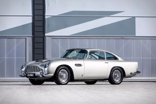 Paul McCartney's 1964 Aston Martin DB5 Is up for Auction