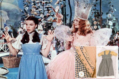 Judy Garland's missing 'Wizard of Oz' dress found decades later