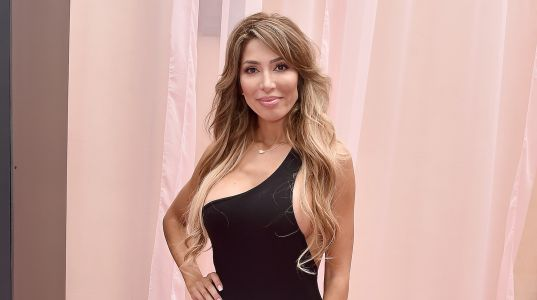 'Teen Mom' Alum Farrah Abraham Rocks Revealing Skin-Tight Black Bodysuit