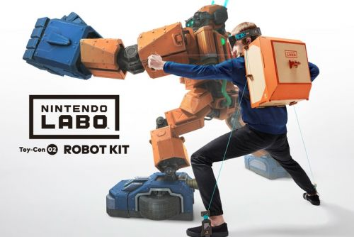 Nintendo Labo Kits Are Available for Pre-Order